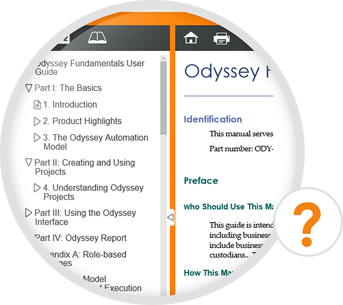 Image highlighting Odyssey's Online Resources